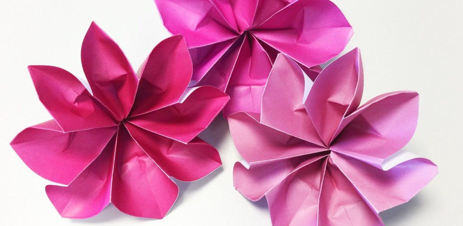 Exceptionnel Célébrez la fête des mères en offrant cette fleur en origami - A.Vogel ZP52
