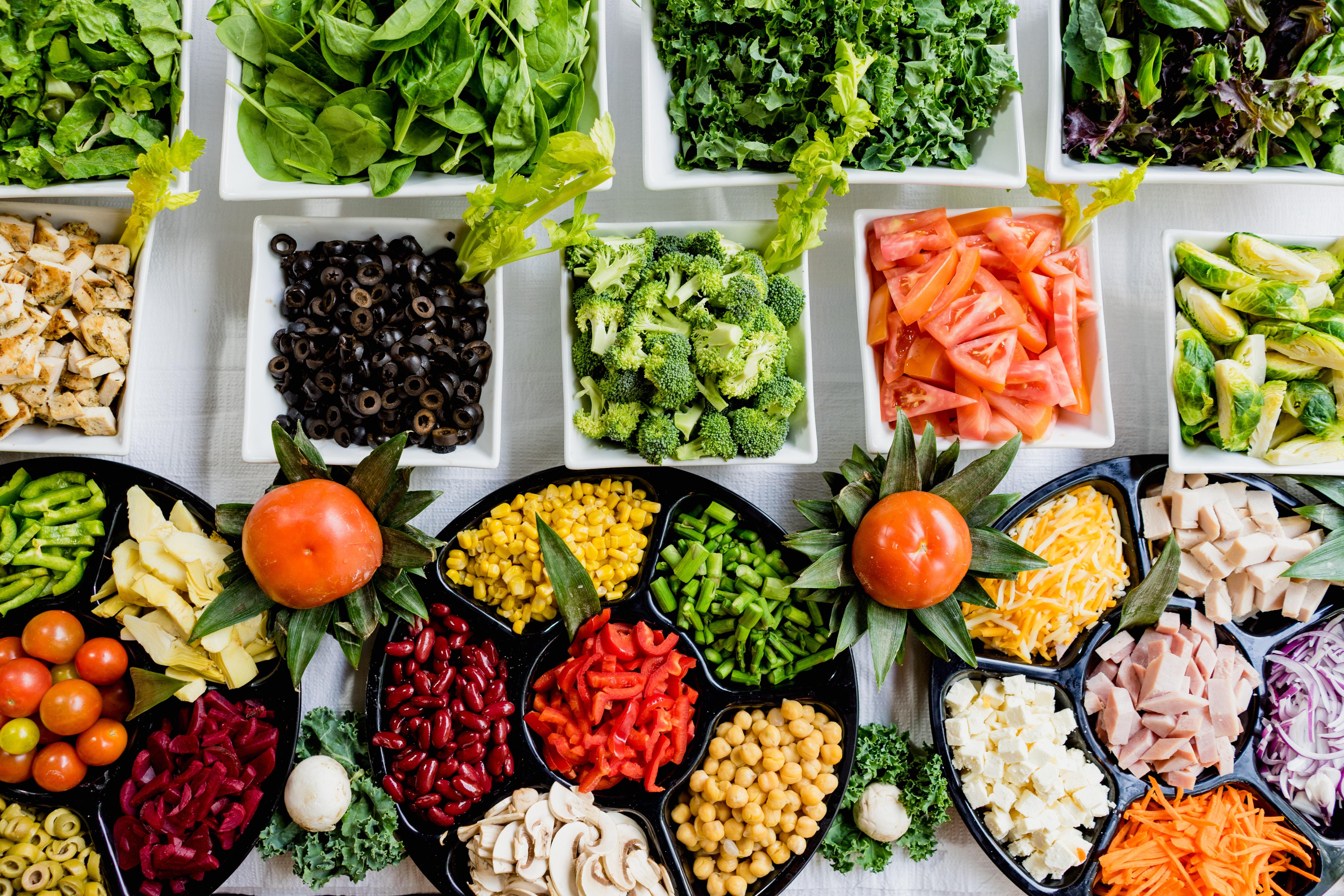 Les meilleures id es de recettes de salades pour l t a vogel - Recette fraiche pour l ete ...