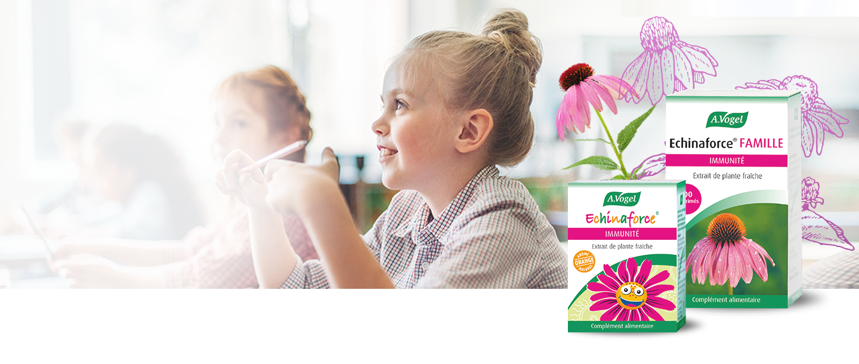 Avec la rentrée des classes, chouchoutez le système immunitaire de vos enfants !